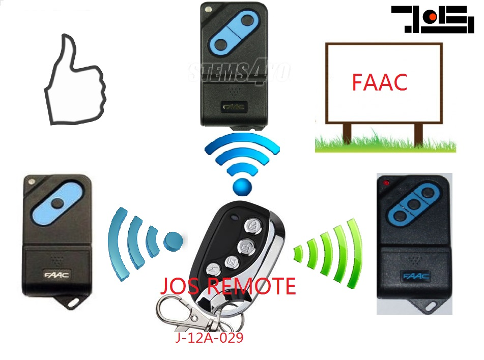 Faac Garage Door Remote Dip Switch Jos International Industrial